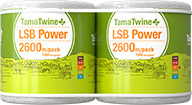 TamaTwine Plus LSB Power 2600m Pack