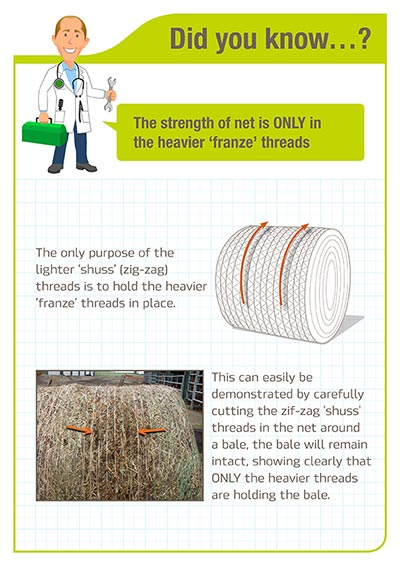 Did you know Strength of the net is in the franze threads