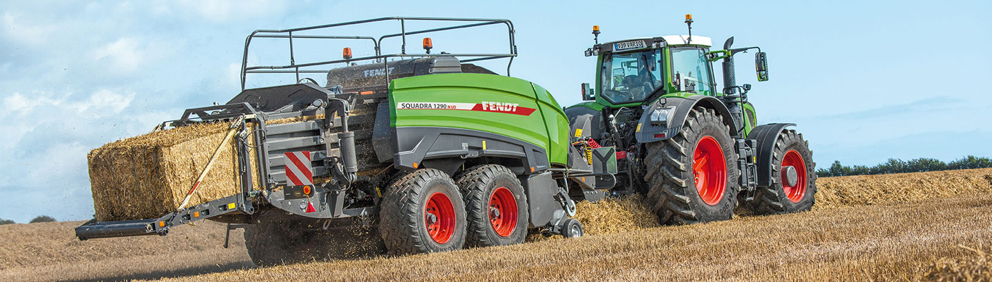 Fendt for Large Square Bales