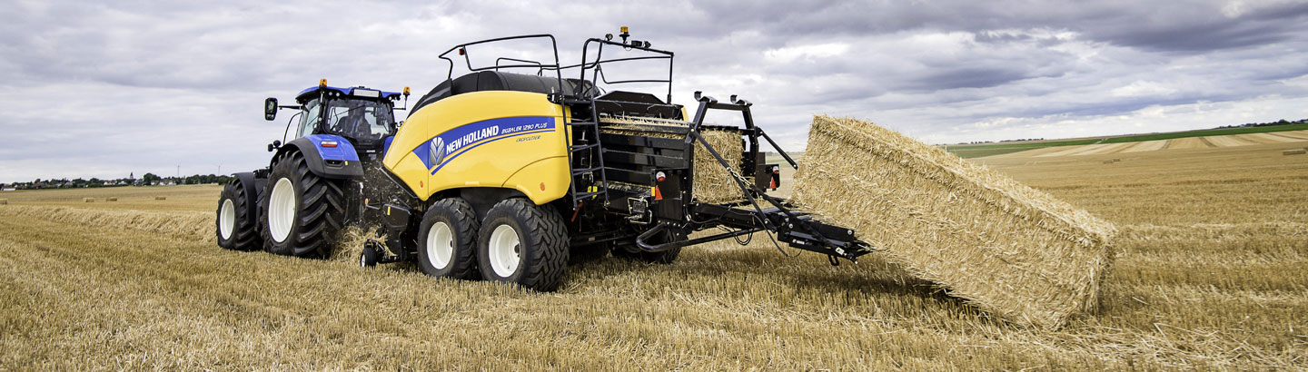New Holland for Large Square Bales
