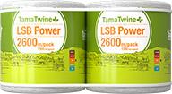 TamaTwine Plus LSB Power 2600m Pack